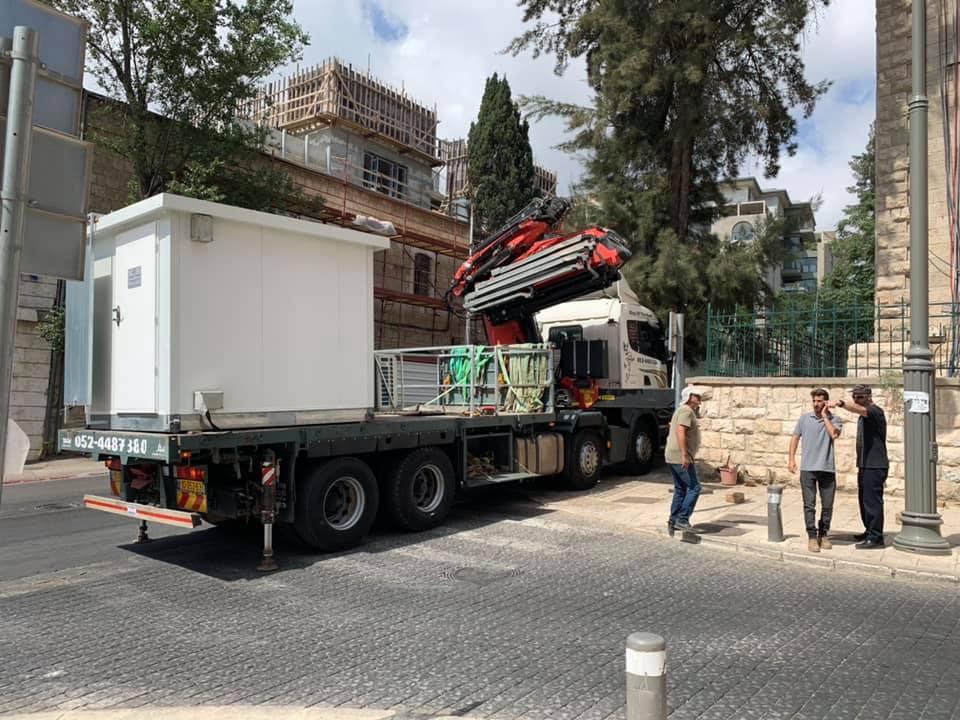מבנה על משאית אלעזר מנופים